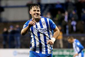 Coleraine midfielder Ben Doherty