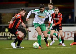 Noisy neighbours: Joe Gormley takes on Billy Joe Burns