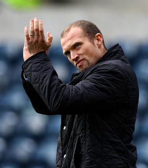 Linfield manager Warren Feeney