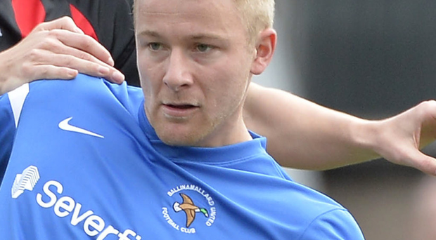 Welcome back: John Currie has returned to Ballinamallard