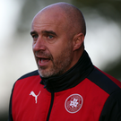 Frustration: Cliftonville manager Gerard Lyttle