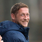 No fear: Kris Lindsay is happy with Glenavon's performances