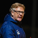 High aims: Harry McConkey would love to knock Linfield out of the League Cup