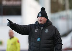 Happy days: David Jeffrey is grateful to be involved in football