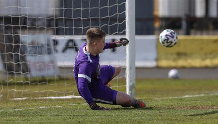 Man of match: PSNI keeper Ben Nicholl conceded five goals but was hailed all round.
