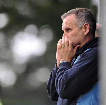Shocked: Ballymena United boss Glenn Ferguson wants his side to get their act together
