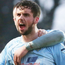 Caolan Loughran celebrates scoring Ballymena's winner