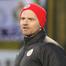 Looking up: Barry Gray wants Cliftonville to climb the table