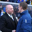 To the wire: Sky Blues' David Jeffrey and Coleraine's Oran Kearney