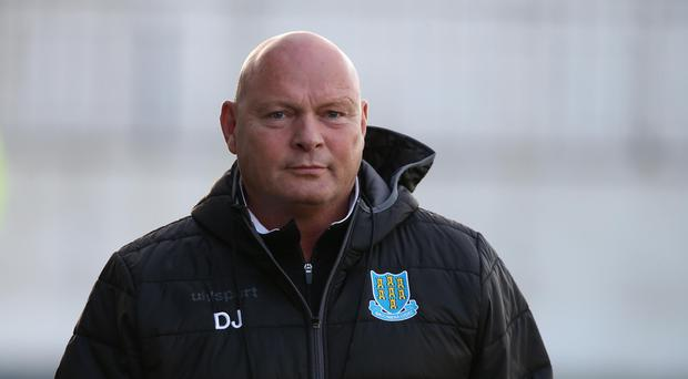 Wise head: David Jeffrey is expecting a tough evening