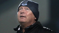 Going strong: David Jeffrey has led Ballymena United to 10 straight wins