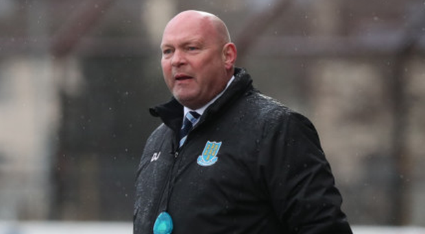 Off colour: David Jeffrey admitted the Sky Blues didn't perform