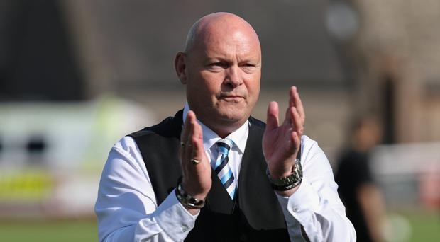 Praise: Ballymena United manager David Jeffrey