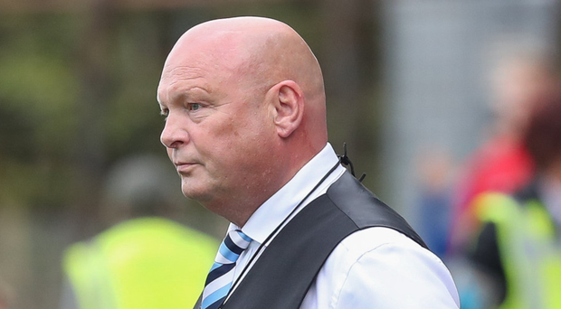 Bar raised: David Jeffrey was impressed by his players