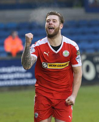 Solitude days: James enjoyed his time with Cliftonville