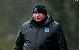 Taking heart: David Jeffrey saluted his side's application
