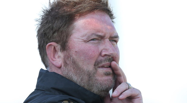 Carrick Rangers boss Niall Currie
