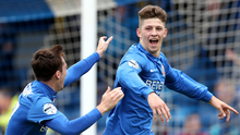 Greg Moorhouse (right) is back with Glenavon