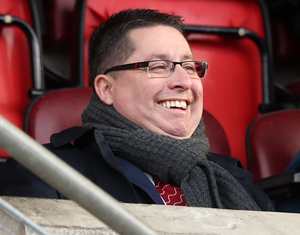 Cliftonville chairman Gerard Lawlor is on both the NIFL Board and the Steering Committee.