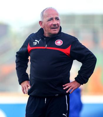 Injury count: Reds boss Tommy Breslin is relying on strength in numbers to sustain a title cha
