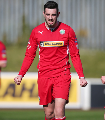 Second act: Joe Gormley is thrilled to be back at Solitude following an injury-laden spell with Peterborough United