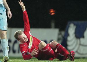 Liam Boyce reeling from the pain of his serious ankle injury