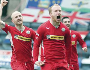 Liam Boyce is Player of the Month for March