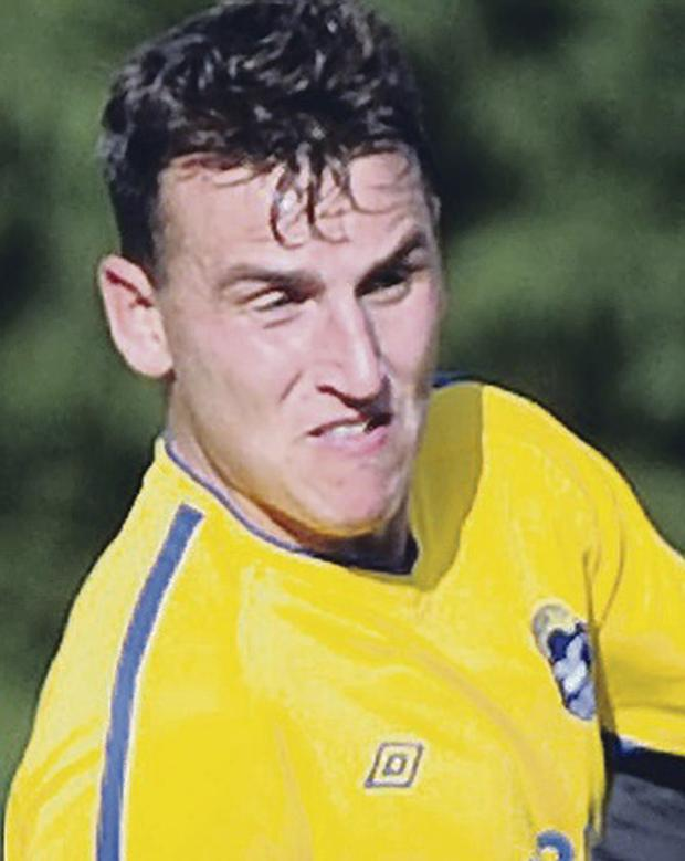 Danger man: Bangor's Stephen O'Neill is a former Reds striker