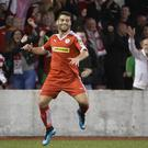 Cliftonville's David McDaid