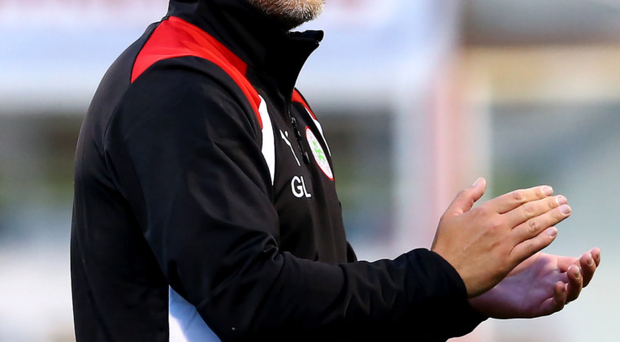 Transition: Gerard Lyttle is 12 months into a rebuilding process at Solitude