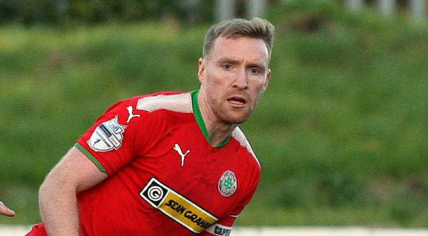 Looking ahead: Cliftonville ace Chris Curran