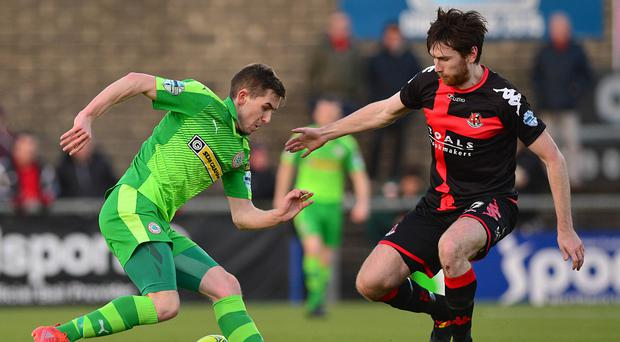 Cliftonville will play Crusaders in the Irish Cup sixth round.