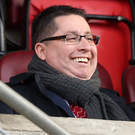 Big challenge: Cliftonville chairman Gerard Lawlor