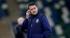 In contention: David Healy's side have games in hand over all their Gibson Cup rivals