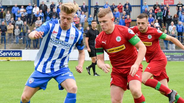 Cliftonville and Coleraine will go head-to-head in front of the Sky cameras
