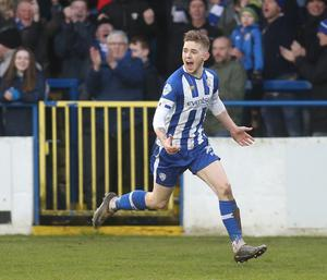 So close: Jamie McGonigle believes Coleraine deserved to finish higher than second