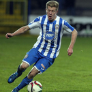 Top class: Lyndon Kane scored the winner for Coleraine