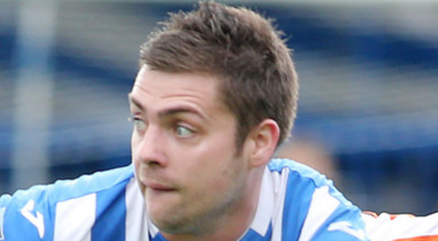 James McLaughlin was on the scoresheet for Coleraine on Saturday