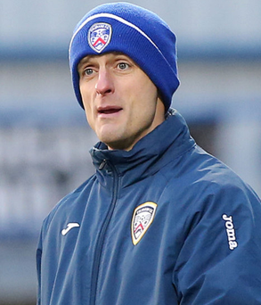 Ready for action: Oran Kearney says Coleraine are in confident mood