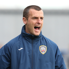 All revved up: Oran Kearney admits the Bannsiders are loving life at the top end of the league and cup competitions