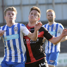 Big fan: Lyndon Kane has watched Coleraine in previous finals