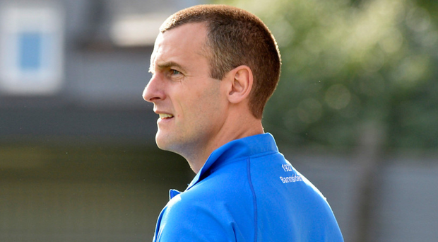 Stay focused: Coleraine boss Oran Kearney is refusing to get drawn into title talk