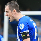 Back at it: David Ogilby wants a response from Coleraine