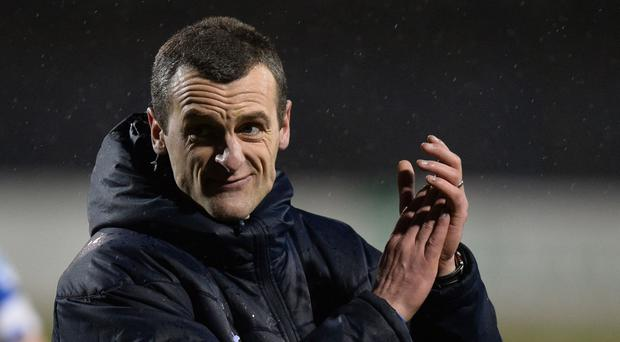 Great start: Oran Kearney's team went three up in first half