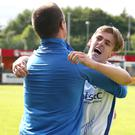 Trophy mission: Ciaron Harkin is determined not to end the season empty handed after Coleraine's title heartache
