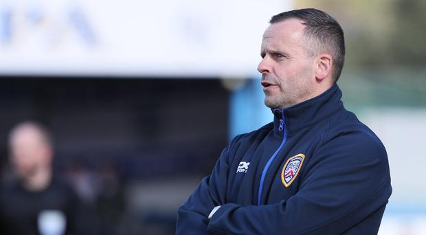 Welsh defeat: Coleraine manager Rodney McAree
