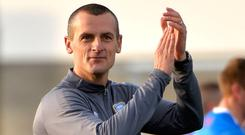 Leading men: Oran Kearney's side are top of the table