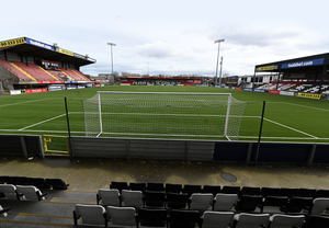 Shuttered: Crusaders' Seaview stadium stands empty