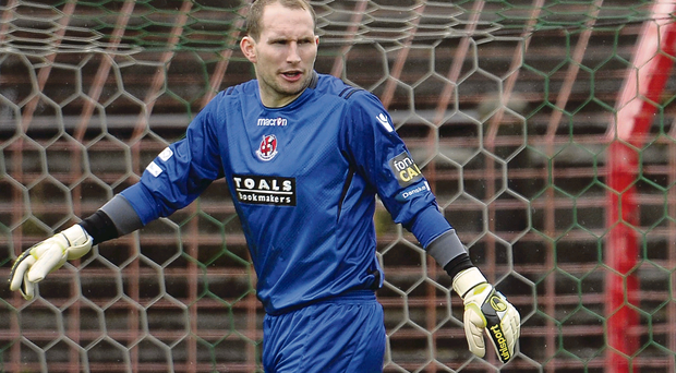 Familiar foes: Sean O'Neill is prepared to meet Cliftonville in a number of crucial games over the next period of weeks