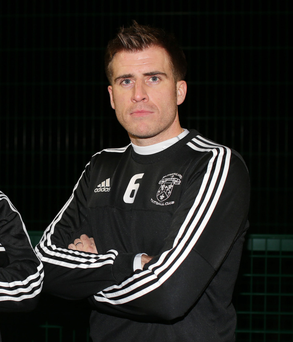 Familiar face: Aaron Black is now with Rathfriland Rangers